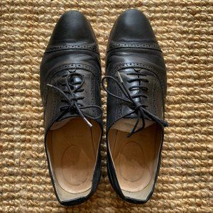 J.Crew Italian Genuine Leather Wingtip Oxfords